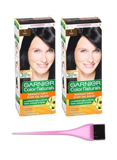 Garnier Garnier 2 Adet Color Naturals Saç Boyası 1 + Boya Fırçası Renksiz